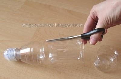 фото цветы из пластиковых бутылок