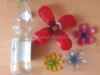 горшки для цветов из бутылок