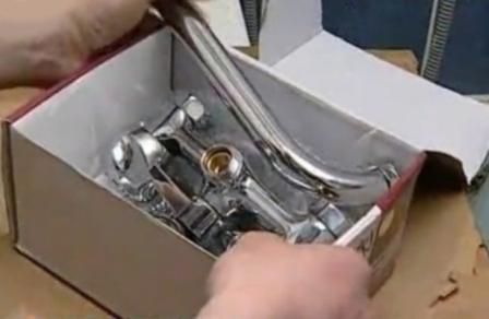 Инструкция по установке смесителя