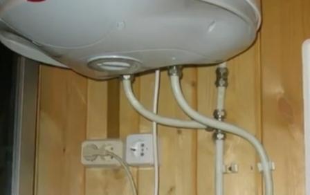 Не правильное подключение водонагревателя