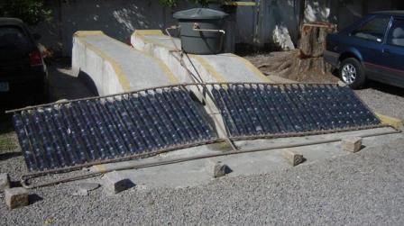 Как изготовить солнечный коллектор